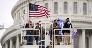 AS Mencekam! Massa Trump Lockdown Capitol, Militer AS Turun