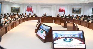 Jokowi dan Para Menteri Suntik Vaksin Sinovac 13 Januari