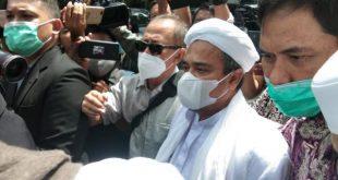 Rizieq Shihab Jalani Sidang Eksepsi Secara Virtual Hari Ini
